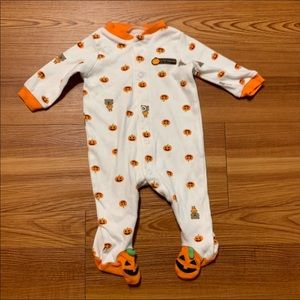 """My First Halloween"" Footie Sleeper"